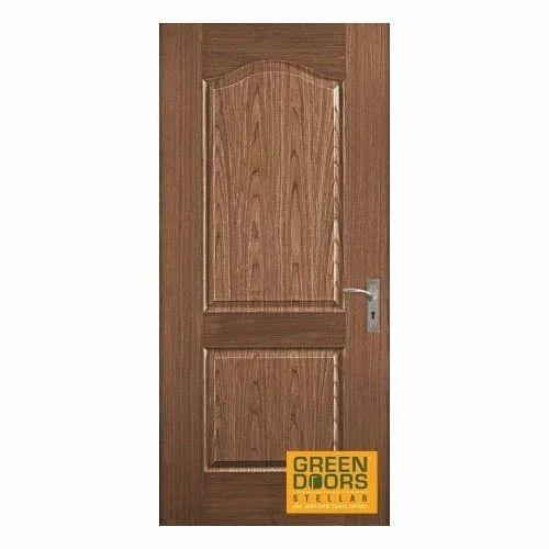 Walnut Crescent Decorative Veneered Door  sc 1 st  IndiaMART & Walnut Crescent Decorative Veneered Door Wooden Doors - Greenply ...