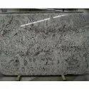 White Galaxy Granite Slab, For Flooring, Thickness: 18 Mm