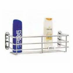 Rectangular Stainless Steel Perfume Shampoo Bathroom Rack