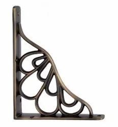 Alvah Brass Shelf Bracket