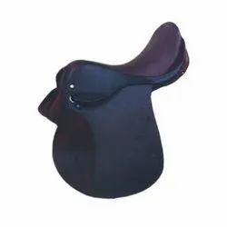 Plain Leather Horse Saddle