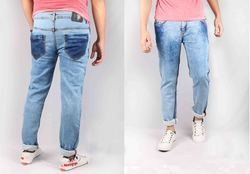 Men Denim Skinny Trousers Jeans with High Quality
