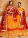 Banarasi Silk Wedding Lehenga Choli