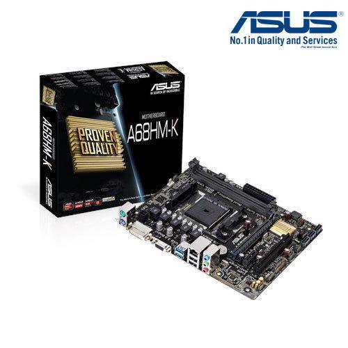 AMD Motherboard - ASUS A68HM-K - DDR3 FM2 Socket AMD