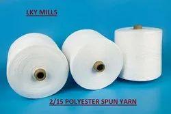 Polyester Yarn 2/15 Psy Wt 15/2