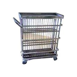 Clean Plate Rack Trolley