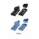 Autonics 5 Pin 6 Port M12 Connector Spring Terminal Type Distribution Box