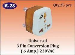 K-28 3 Pin Conversion Plug