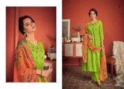 Cotton Blue Kiyara Deepsy Ladies Dress Material