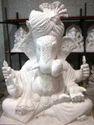 Makrana Marble Ganesh Ji Statue
