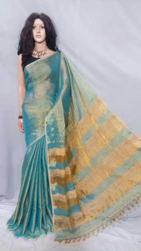 df0f686c13 Cotton,Handloom,Linen,Silk Bengal Sarees - Pure Tissue Linen Ghicha ...