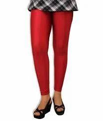 Silk Red leggings