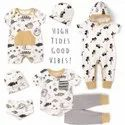 Organi Cotton As In Image Born Baby Gift Set