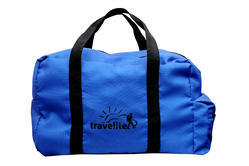 Cotton Fabric Foldable Travel Bag