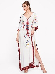 Long Embroidery Dresses