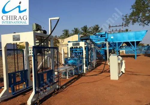 Fully Automatic Concrete Block Machine - High Production