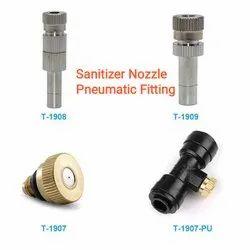 Pneumatic Sanitizer Fitting