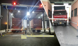 Truck Turnaround System RFID and IOT