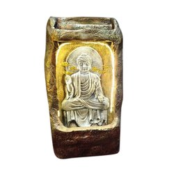 3 Feet Fiber Buddha Water Fountain