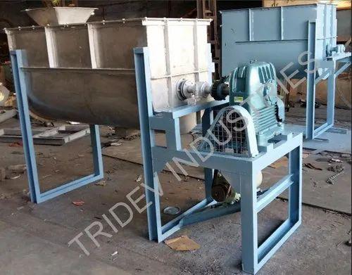 Tridev Ms,Ss Ribbon Blender, Capacity: 50-10000 Liters, Model Name/Number: Trb