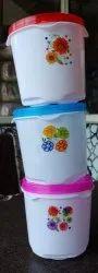 Big Topaz 2.5 Kg Polypropylene Food Container