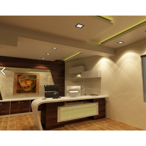 Commercial Interior Designing Services Office Cabin