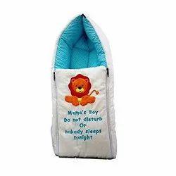 Moms Boy-Baby Sleeping Bag come Carry Bag (Blue)