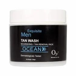 O3 Exquisite Men Ocean Tan Wash Nourishing/Tan Removal Pack - 300g