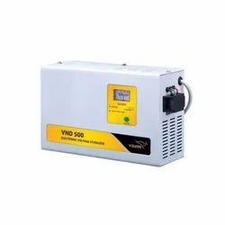 Model Name/Number: Vnd500 150-280 V Electronic Voltage Stabilizer, Current Capacity: 15 Amp, Wall Mounting