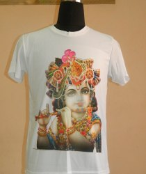 Dry Fit Casual Wear Printed T-Shirt