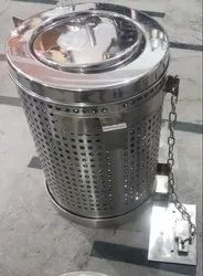 Indian Railway Stainless Steel Dustbin