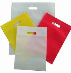White Promotional Bags NON WOVEN BAG D CUT, For Shopping, Capacity: 5 Kg