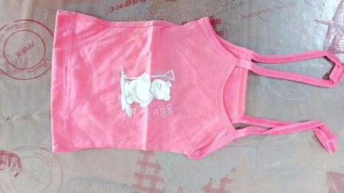 Pink Cotton Baby Slips