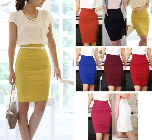 9e1c599a55 Ladies Black Plain Formal Skirt, Rs 400 /piece, Allied Outfitters ...