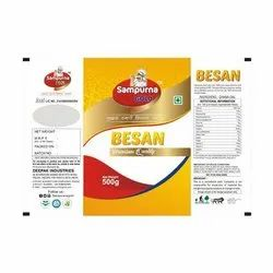 9 Months From Packaging Sampurna Gold Besan, Form: Powder, Packaging Size: 500 Gm