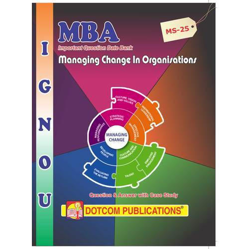 IGNOU MBA Books - Management Functions Behaviour Book Manufacturer