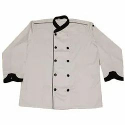 Polyester Hotel Chef Coat, Size: M-XL