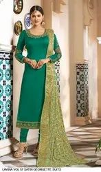 Partywear Georgette Suits