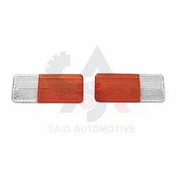 Front Bumper Indicator Light Lens For Suzuki Samurai SJ410 SJ413 Sierra Gypsy