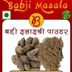 Babji Masala Black Cardamom Powder, Packaging Size: 1kg Also Available In 50g