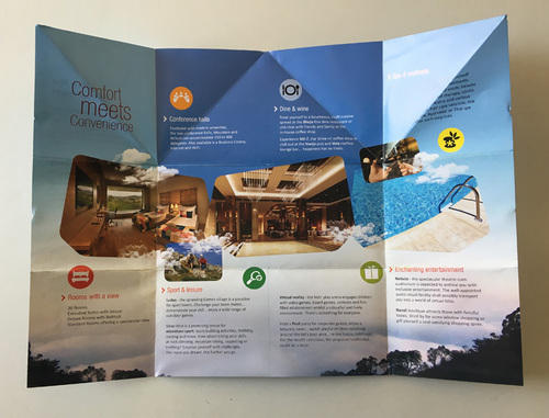 Paper Promotional Brochure Pitchmakers  Id