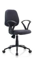 Crystal Ergonomic Chair in Black Color by Oblique