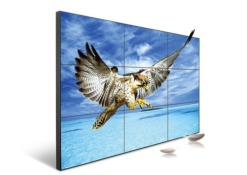 Metal Rectangle LCD Video Wall, Display Size: 55 Inch