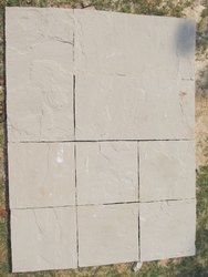 Slab Bharatpur White Sandstone, for Construction, Thickness: 18 mm - 1 Inch