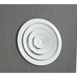 6 - 18 Inch White Round Air Diffuser