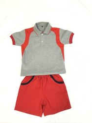 Shyamjee Summer Hosiery Kids School Uniform, Size: S, M