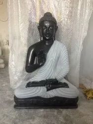 Stone Marble Buddha Sculpture