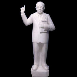 Dr B.R. Ambedkar Marble Standing Statue