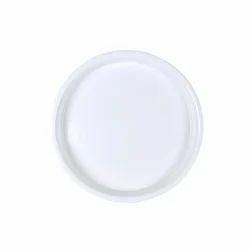 White Round Plastic Plate