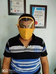 Safety Face Shields with Mask